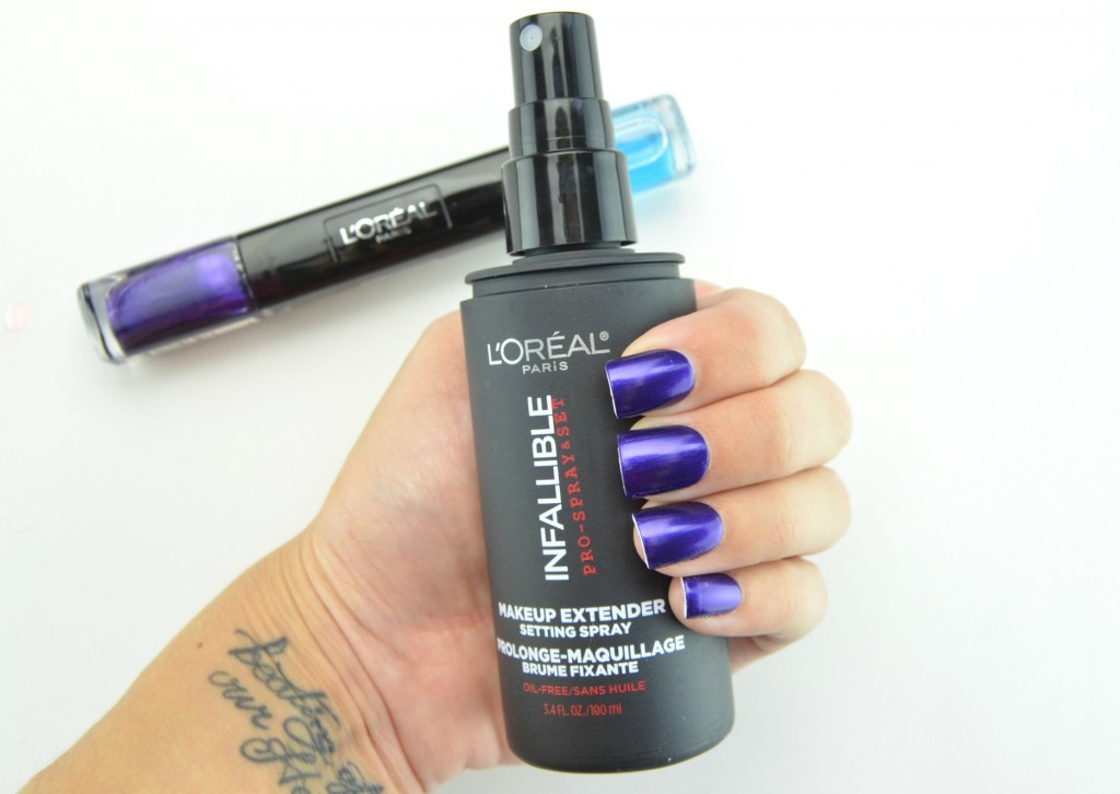L'Oreal, Infallible, Spring 2015, L'Oreal Infallible Makeup Extender Setting Spray, setting spray