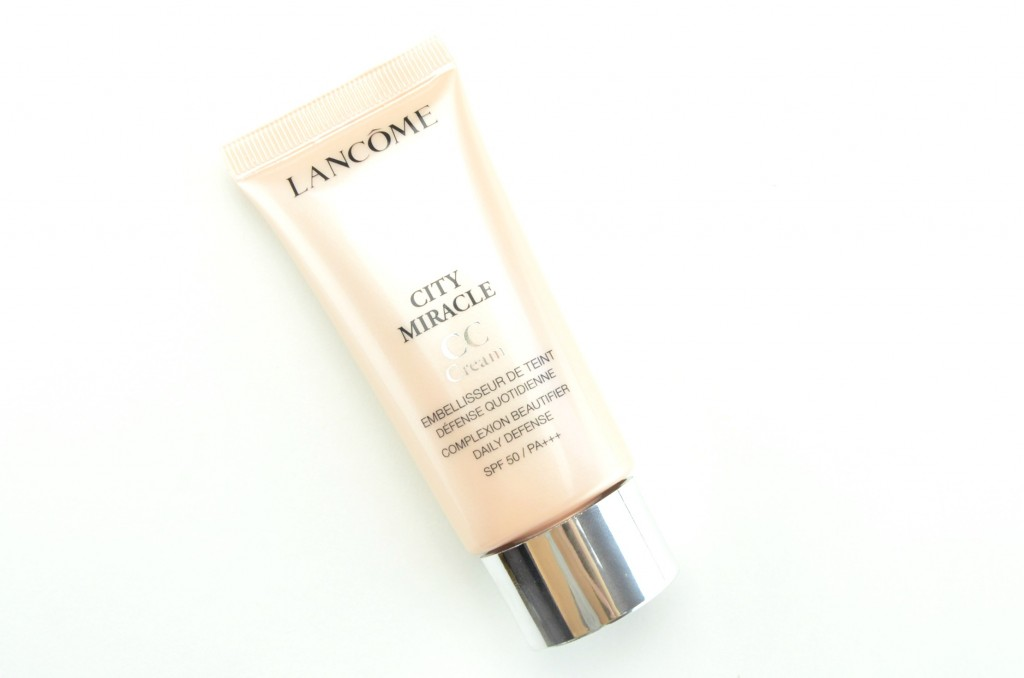 Lancôme City Miracle CC Cream Review, Blogger, Makeup Crimes, Fall Makeup looks, Latest cosmetics trends, makeup tips, Toronto Blog, How to apply, makeup trends, crimes of beauty, beauty blog