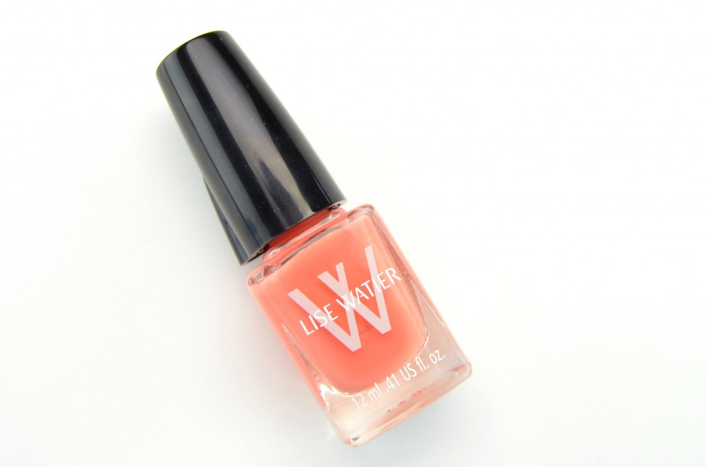 Lise Watier Expression, Lise Watier Nail Lacquer, coral nail polish, coral nails, nail blogger, canadian nail bloggers
