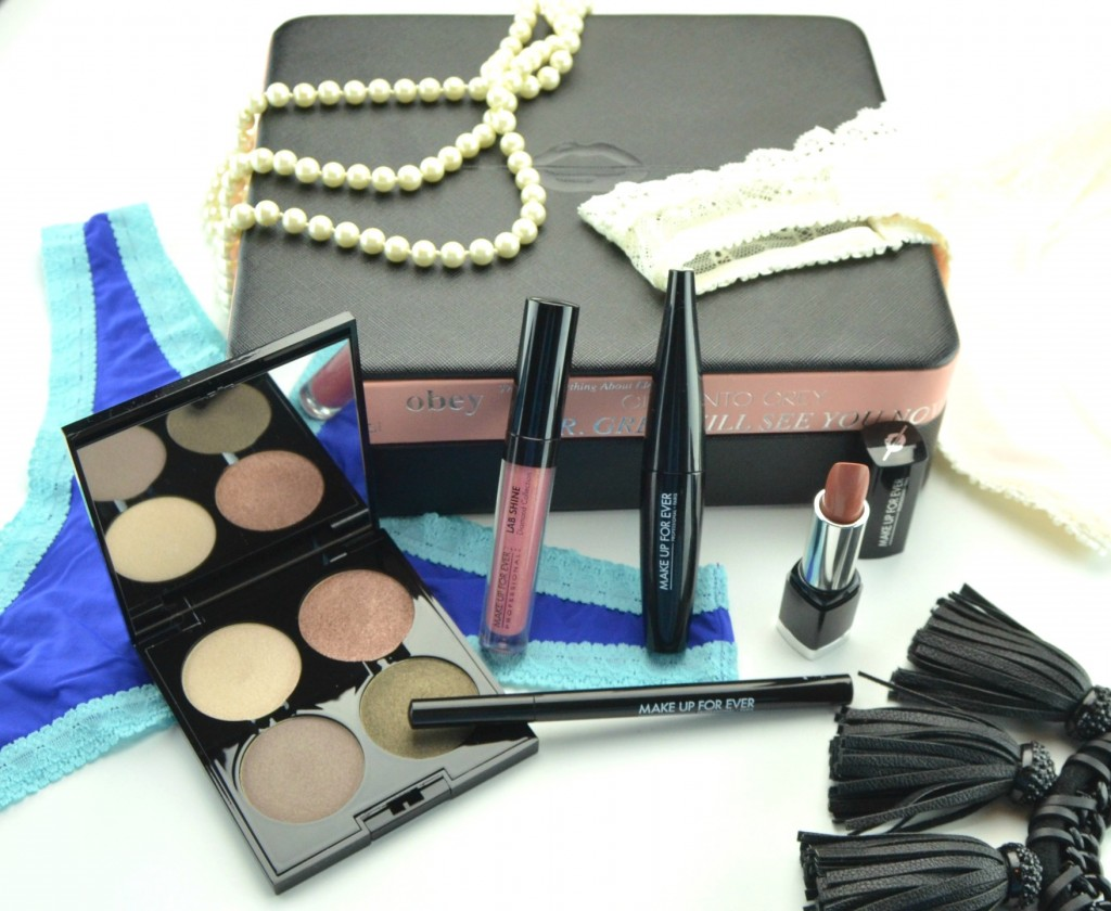 Make Up For Ever 50 Shades of Grey Makeup Collection Review