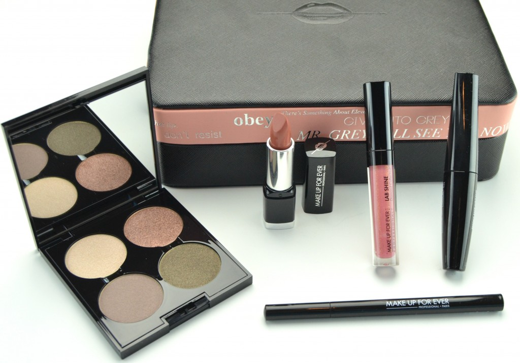 Make Up For Ever 50 Shades of Grey Makeup Collection Review, 50 shades of grey, 50 shades of grey makeup