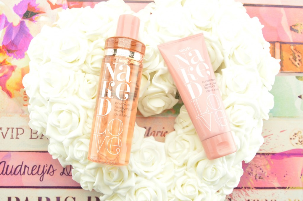 Mark Naked Love Bath and Body Collection review