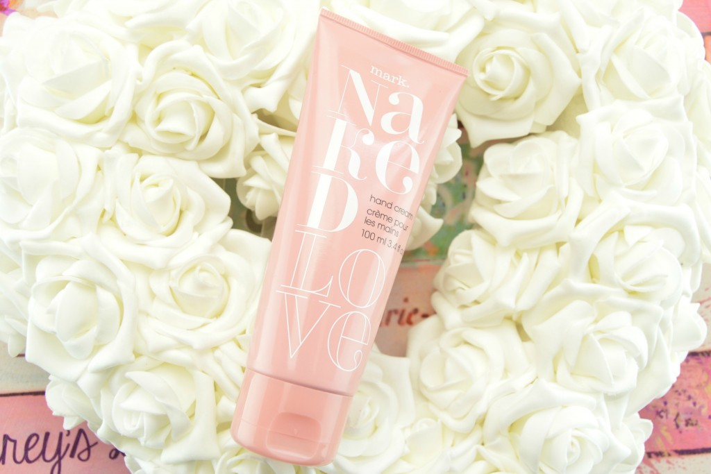 Mark Naked Love Hand Cream, hand cream, avon body lotion, fresh and clean