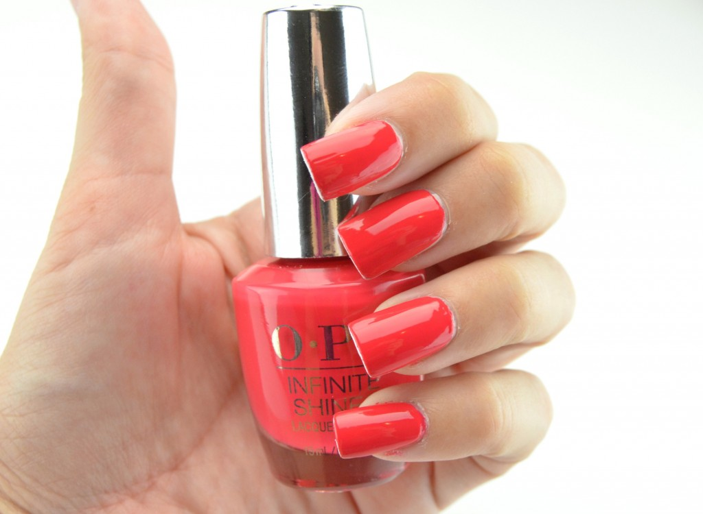 OPI Infinite Shine, Gel Effects, Lacquer System, OPI Infinite Shine Lacquer in She Went On and On and On