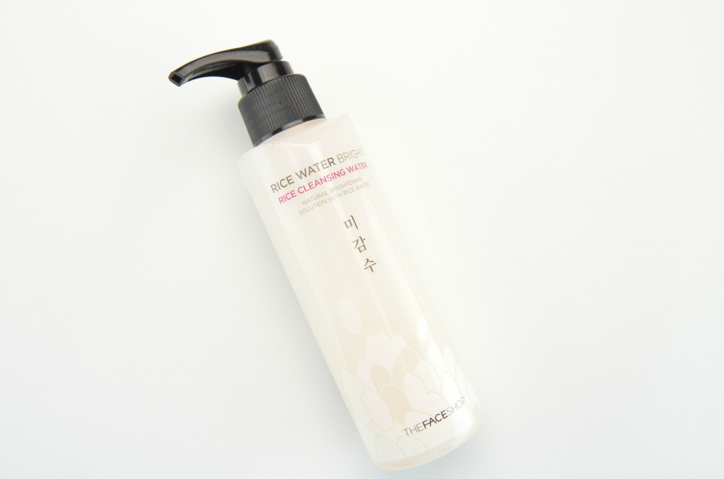 The Face Shop Rice Water Bright Rice Cleansing Water, cleansing water, rice water, beauty bloggers