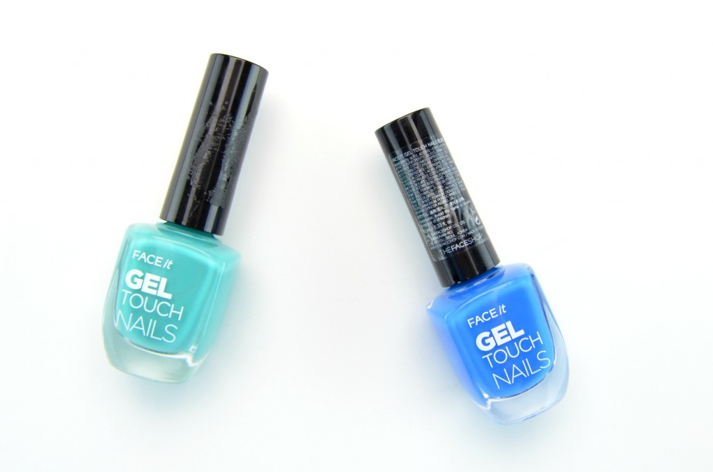 The Face Shop Face Ace It Gel Touch Nails, nail polish, teal polish, blue nail polish, spring nail polishes