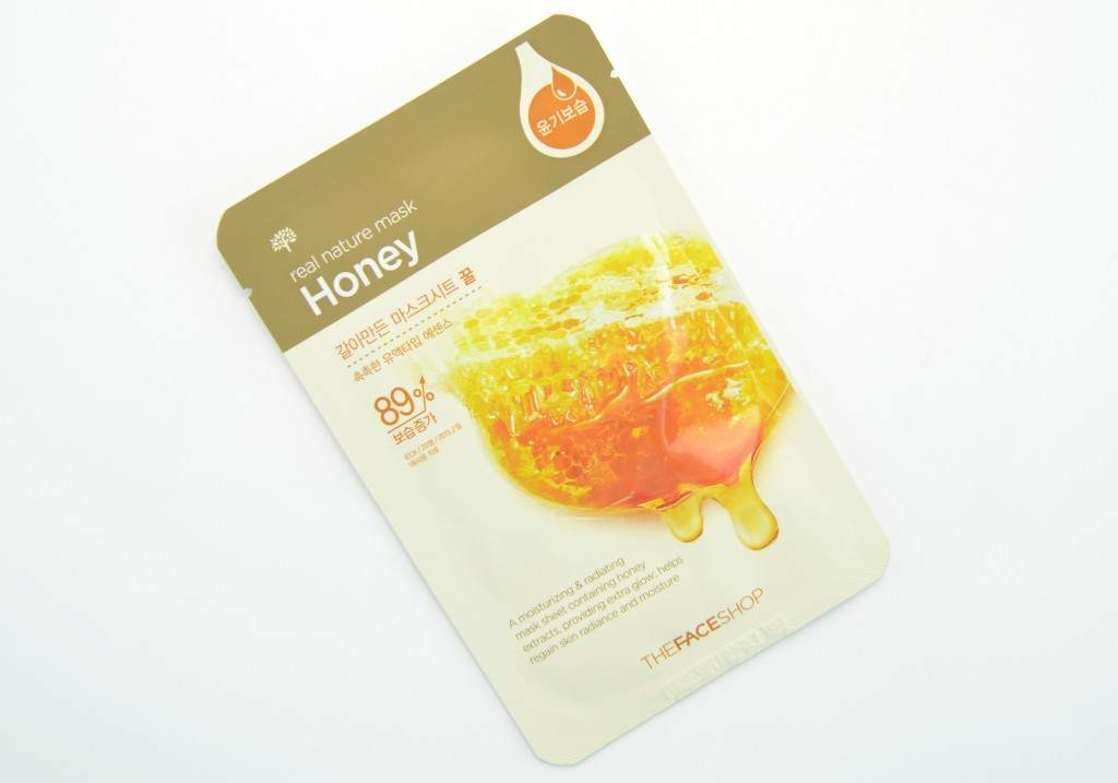 The Face Shop review, The Face Shop Real Nature Mask, sheet mask, nature mask, facial masks, The Face Shop Real Nature Mask honey