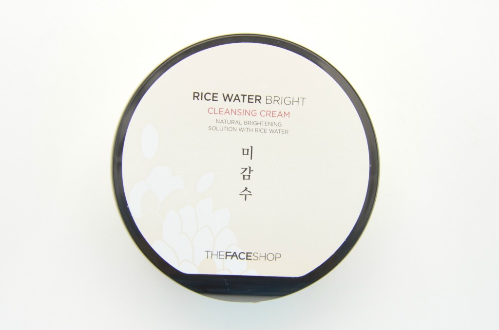 The Face Shop Rice Water Bright Cleansing Cream, rice water, brightening cleansing cream, cleansing cream, rice cream