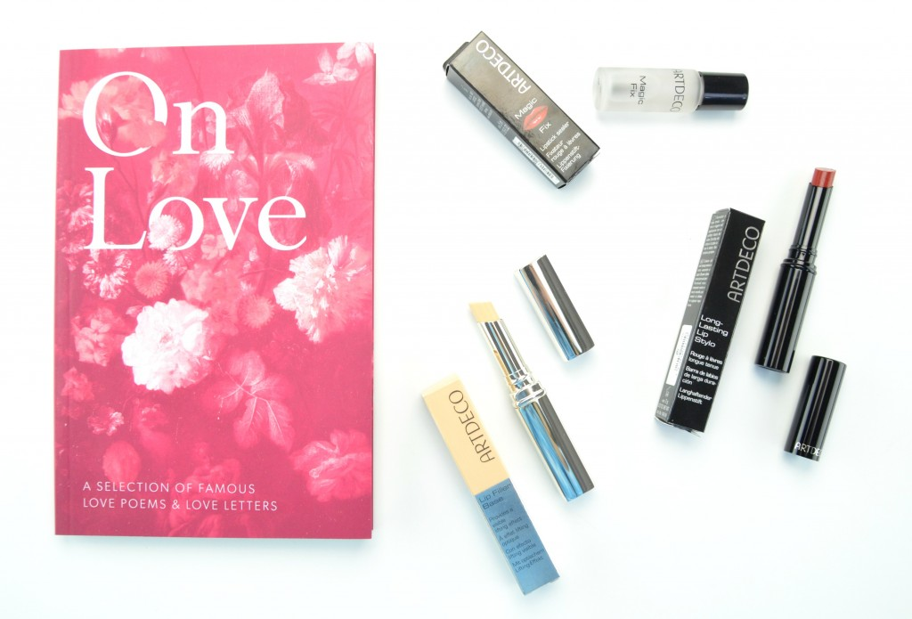 Valentine's Day Kiss-Proof Pout with ARTDECO