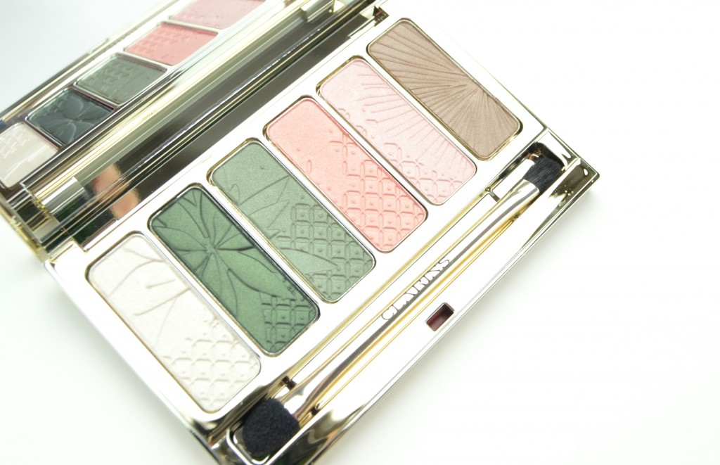Clarins Garden Escape, Clarins Limited Edition Garden Escape 6 Colour Eye Palette, 6 colour eye palette, clarins eyeshadow, spring eyeshadows