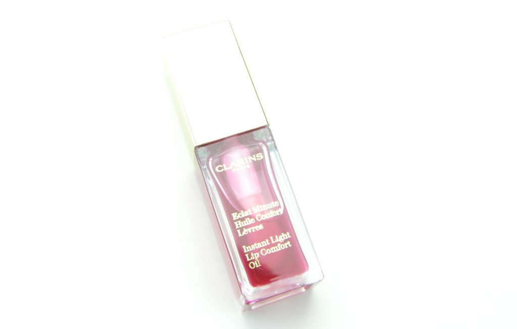 Clarins Instant Light Lip Comfort Oil, lip oil, Clarins Instant Light, Lip Comfort Oil
