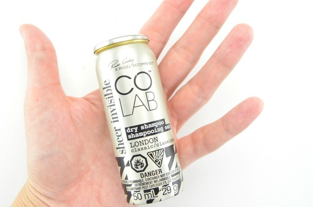 Colab Dry Shampoo review, dry shampoo, colab,