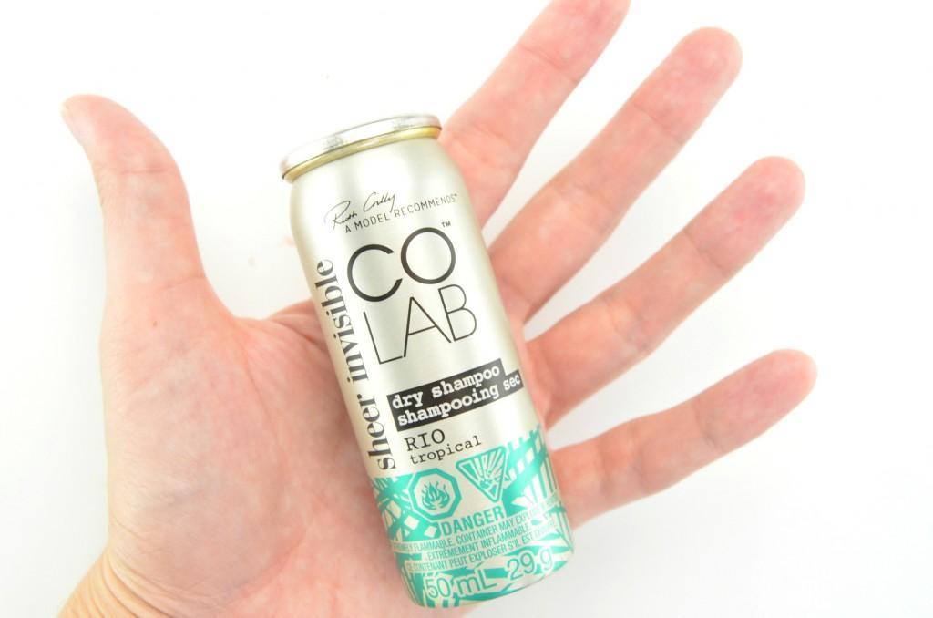 Colab Dry Shampoo review, colab, dry shampoo