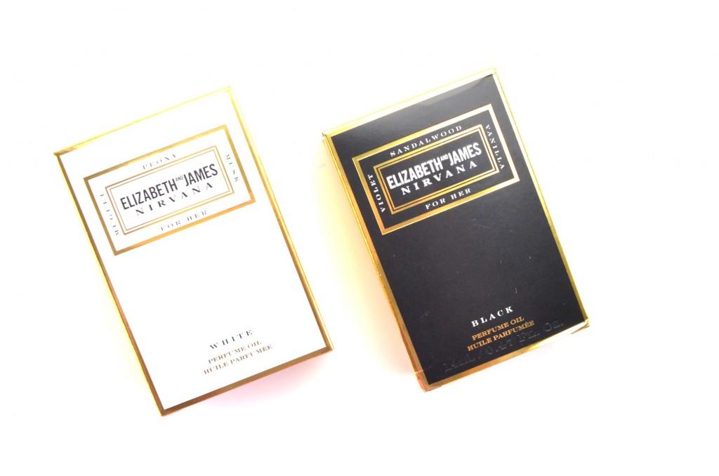 Elizabeth and James Nirvana White Perfume Oil and Black Perfume Oil Review