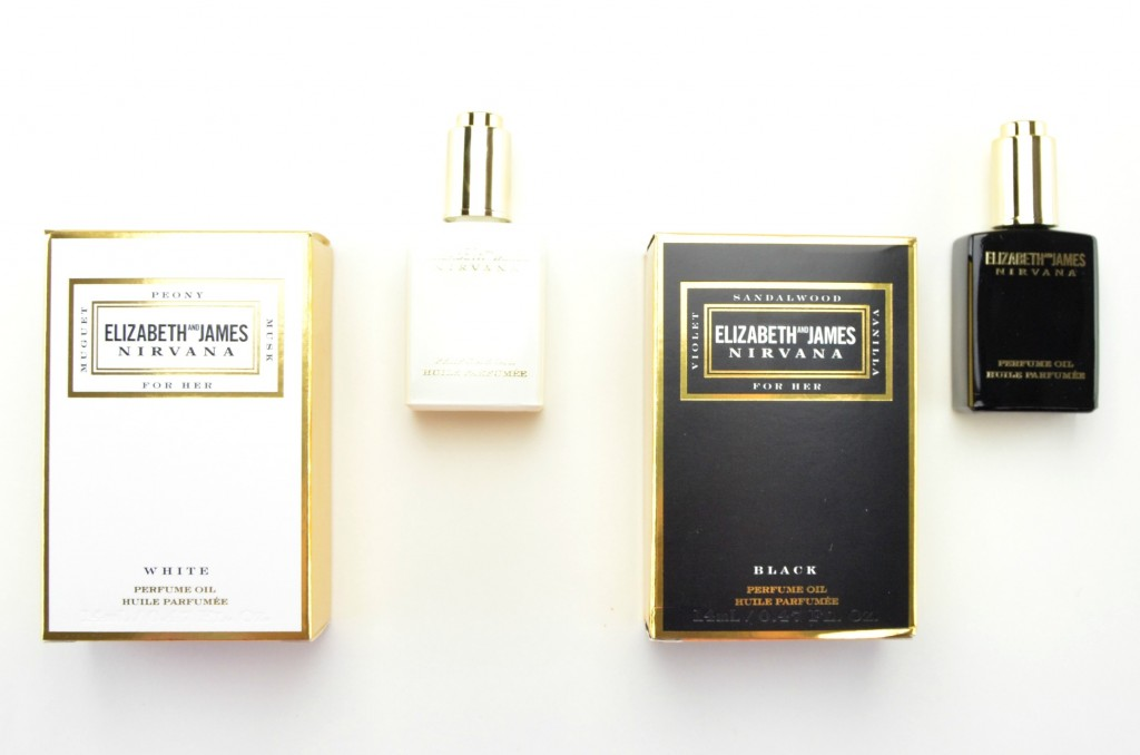 Elizabeth and James Nirvana White Perfume Oil, Elizabeth and James Nirvana Black Perfume Oil , nirvana black, nirvana white, elizabeth and james, Mary-Kate and Ashley Olsen perfume