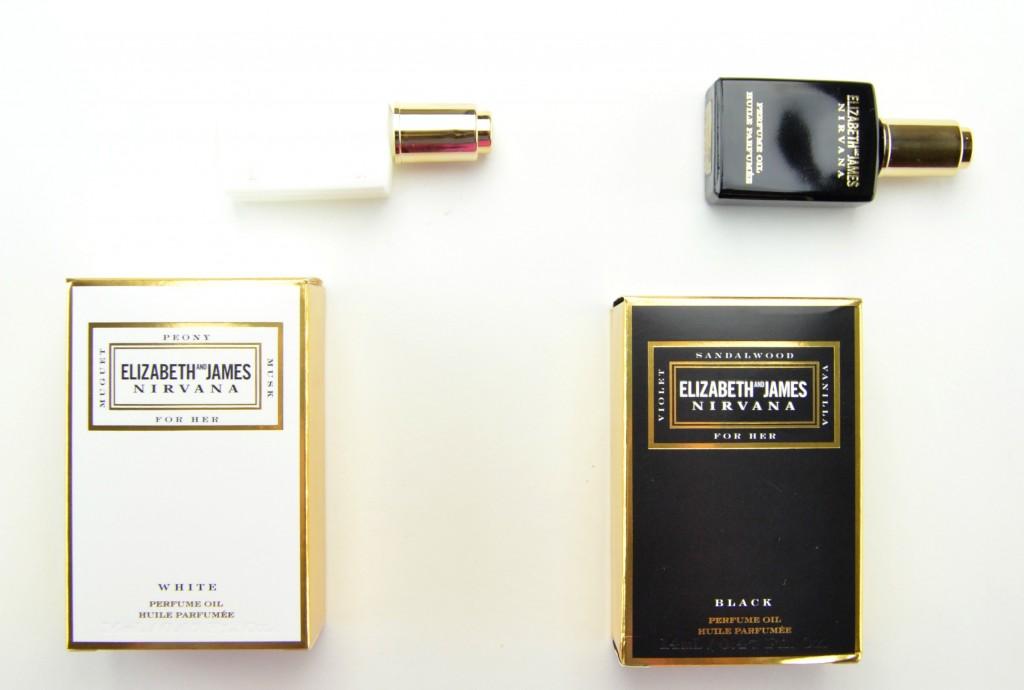 Elizabeth and James Nirvana White Perfume Oil, Elizabeth and James Nirvana Black Perfume Oil , nirvana black, nirvana white, elizabeth and james, Mary-Kate and Ashley Olsen perfume