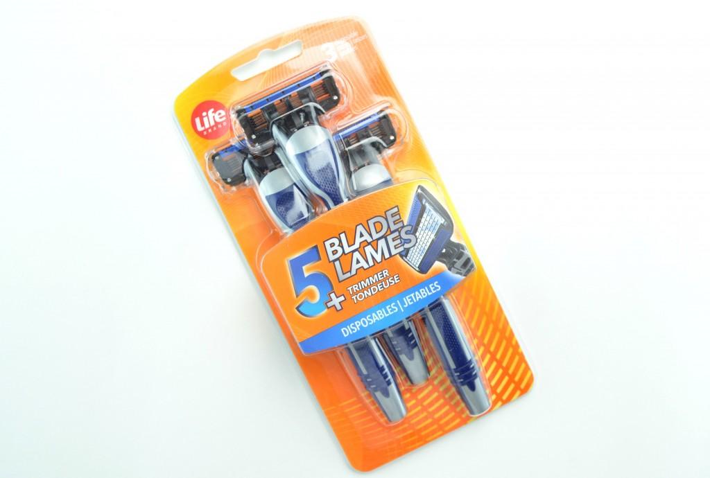 Life Brand Disposable Razor for Men, life brand razor, life brand disposable razor, mens razors, mens disposable razors, razors