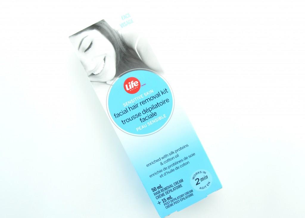 Life Brand Facial Hair Removal Kit, facial hair removal, hair removal, hair removal kit, life brand, shoppers drug mart, life brand hair removal