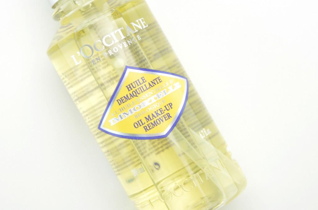 L'Occitane Immortelle Oil Makeup Remover review, l'occitane immortelle, oil makeup remover, makeup remover,