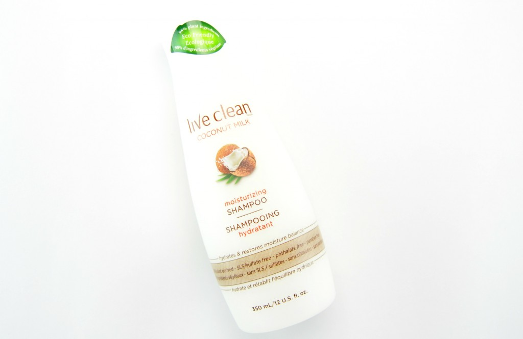 Live Clean Coconut Milk Shampoo and Conditioner review, Live Clean Coconut Milk Conditioner, live clean, coconut conditioner, coconut milk shampoo, live clean hair care