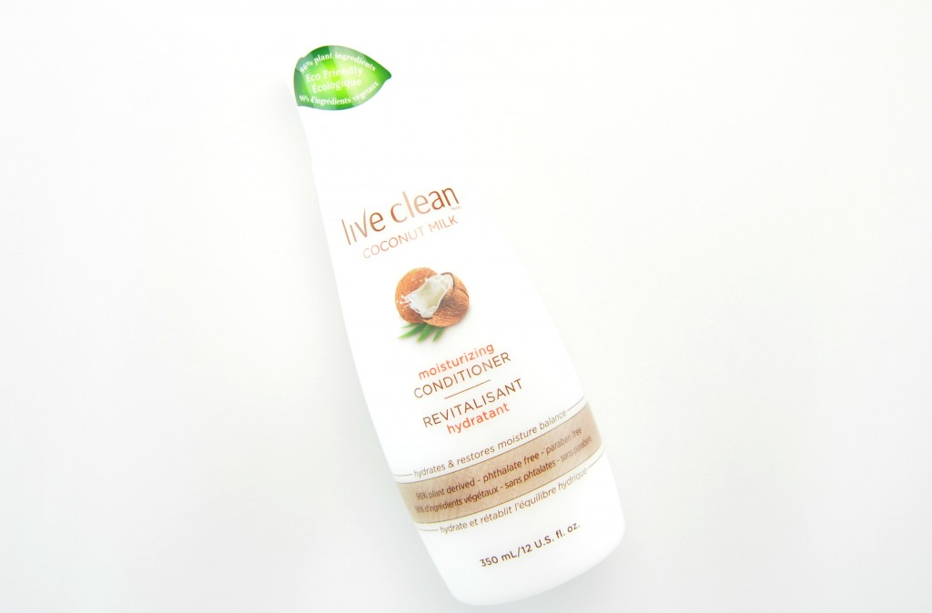 Live Clean Coconut Milk Shampoo and Conditioner review, Live Clean Coconut Milk Conditioner, live clean, coconut conditioner, coconut milk shampoo, live clean hair care