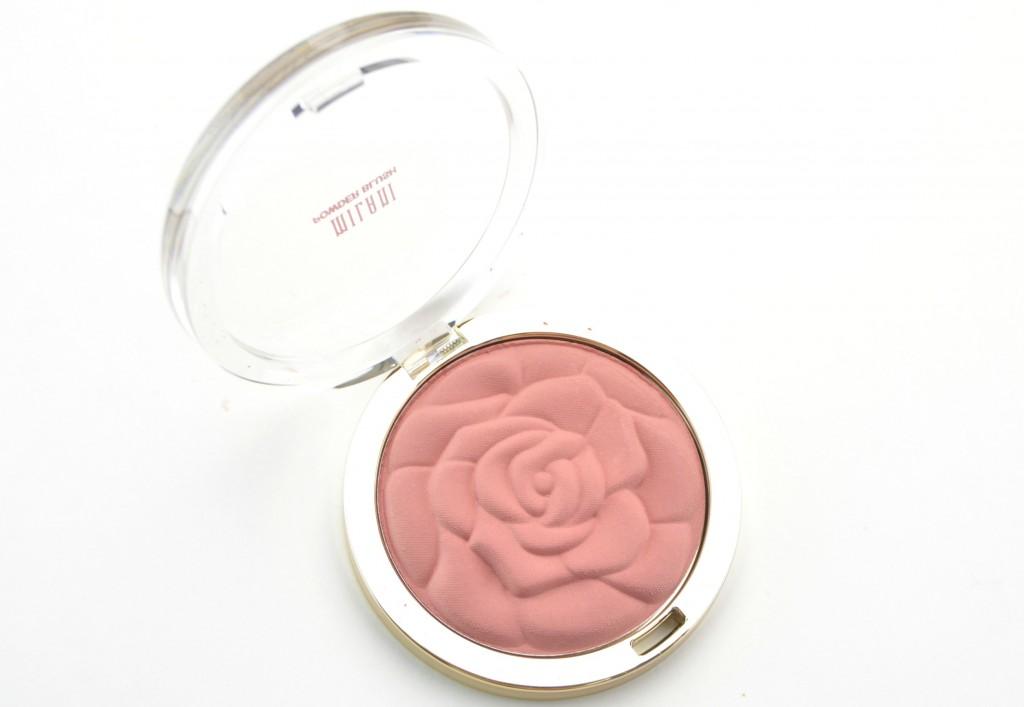 Milani Spring blush, milani rose blush milani blush, Milani Rose Powder Blush, rose blush, powder blush, canadian beauty blog