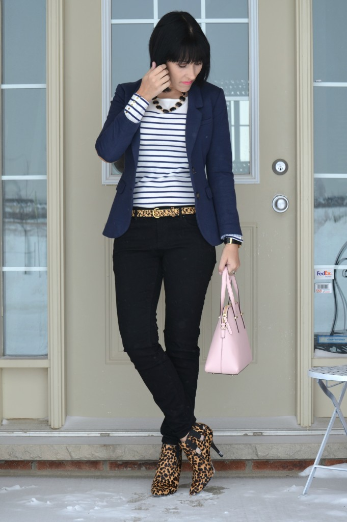 Kate Spade Purse, Shopbop handbag, black Skinny Jeans, Smart Set jeans, Animal Print Booties, nine west boots, nine west booties, animal print shoes, black jeans, shopbop