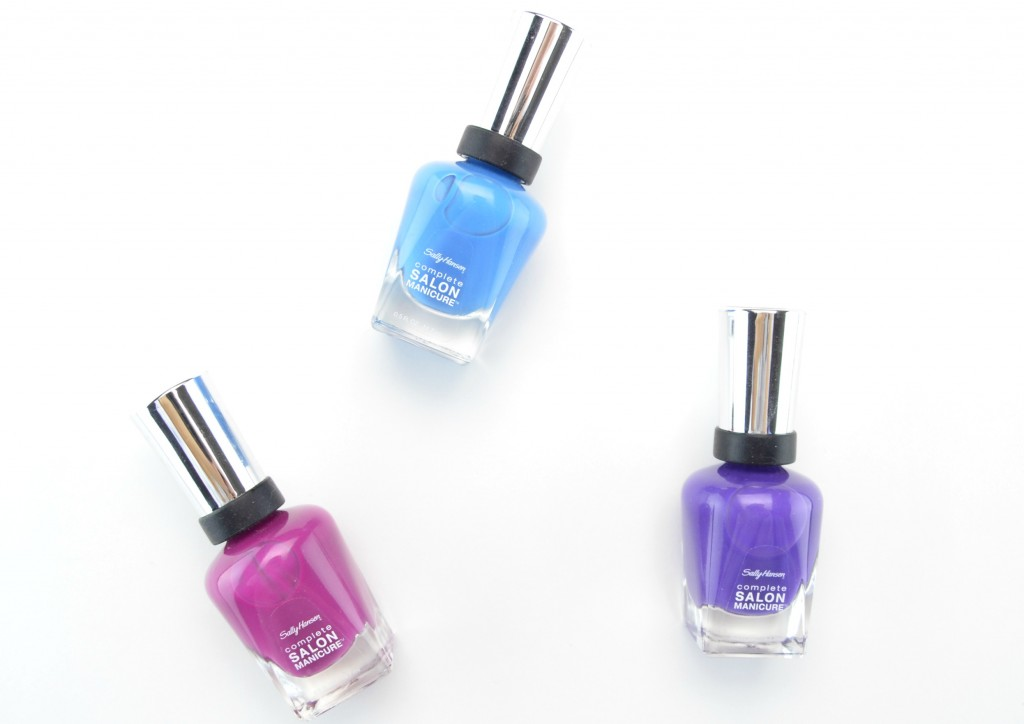 Sally Hansen Complete Salon Manicure, sally hansen manicure, sally hansen nail polish, quick drying polish, salon nail polish