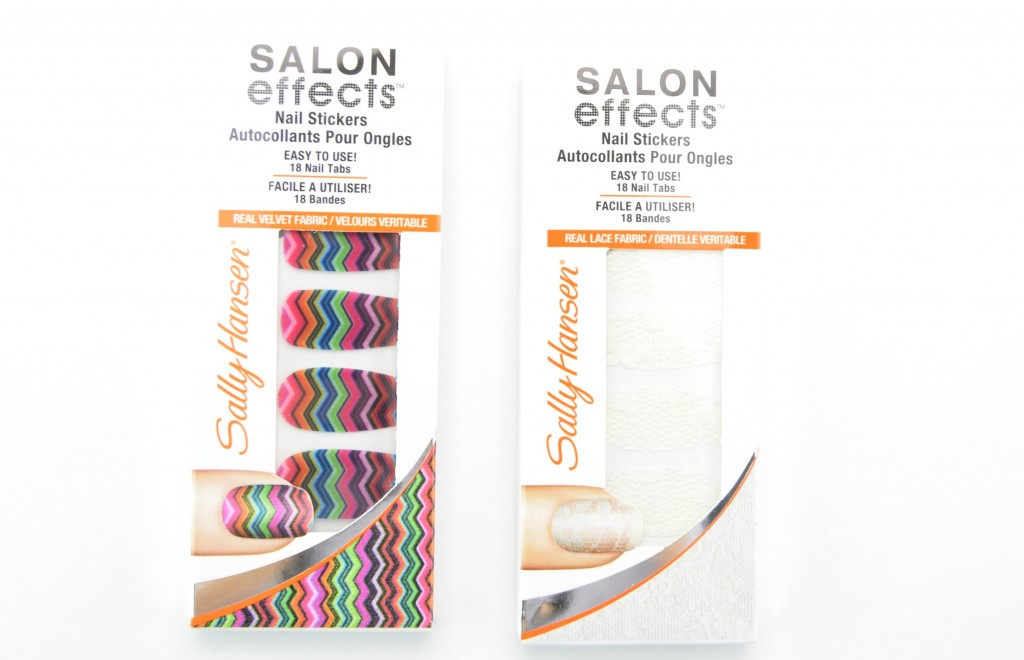 Sally Hansen Salon Effects Fabric Stickers, effects stickers, nail polish stickers, sally hansen stickers, Sally Hansen Spring 2015 Review