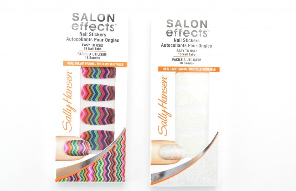 Sally Hansen Salon Effects Fabric Stickers, effects stickers, nail polish stickers, sally hansen stickers, Sally Hansen Spring 2015 Review