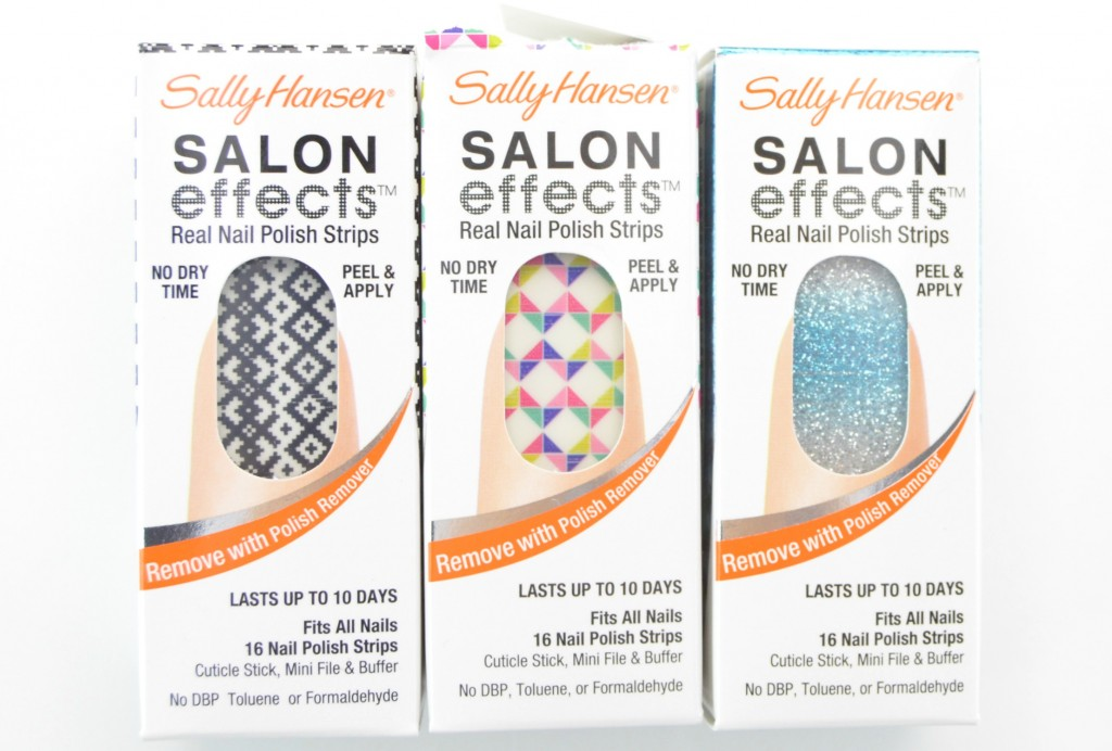 Sally Hansen Salon Effects Real Nail Polish Strips, nail strip, sally hansen salon effects, nail effects, nail polish stripes