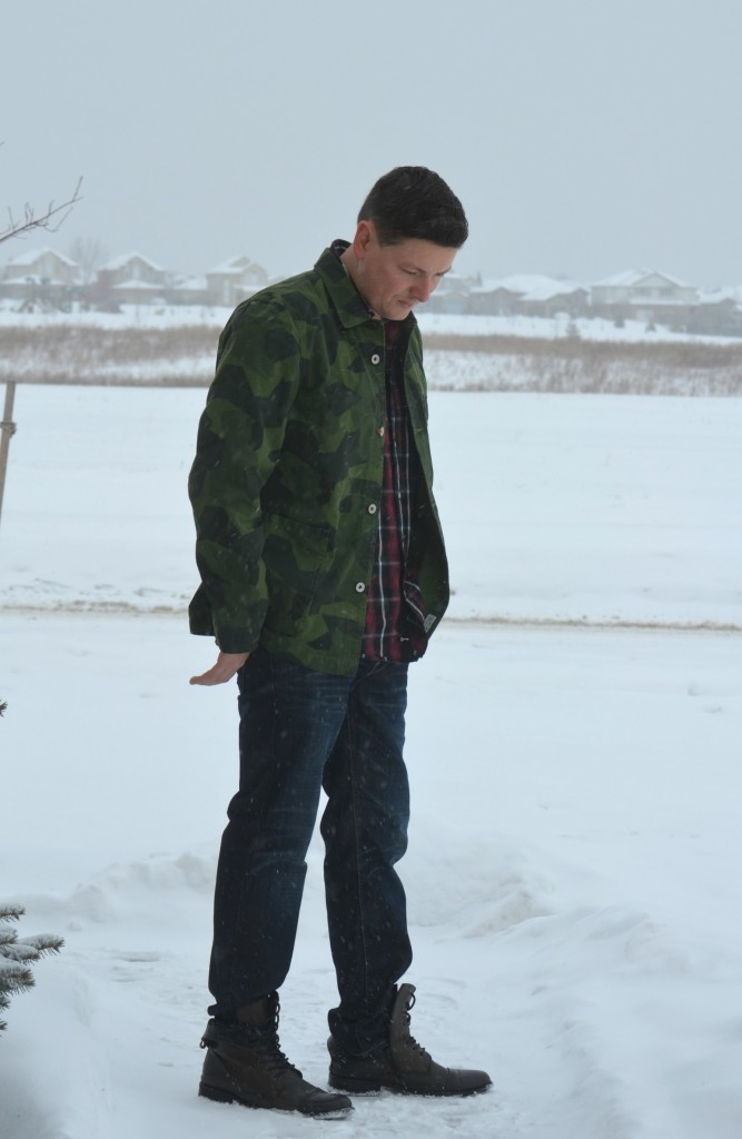 East Dane, army jacket, plaid shirt, combat boots, skinny jeans, green winter coat, army