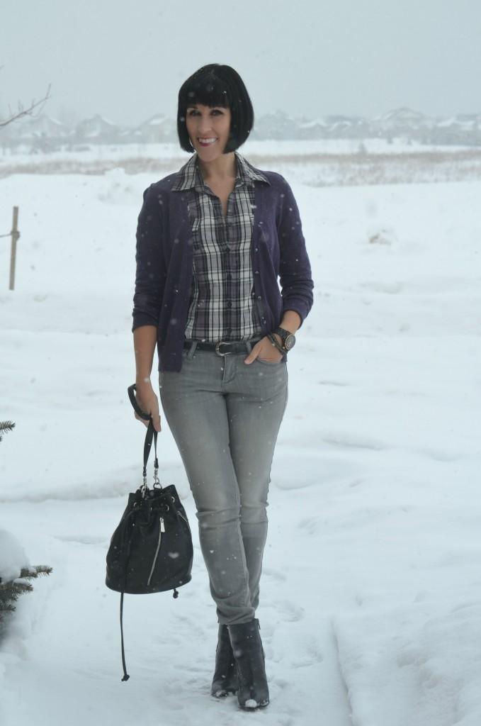 Grey Jeans, grey Booties, Nine West boots, Skinny jeans, grey skinny jeans, high heel booties, nine west high heel boots