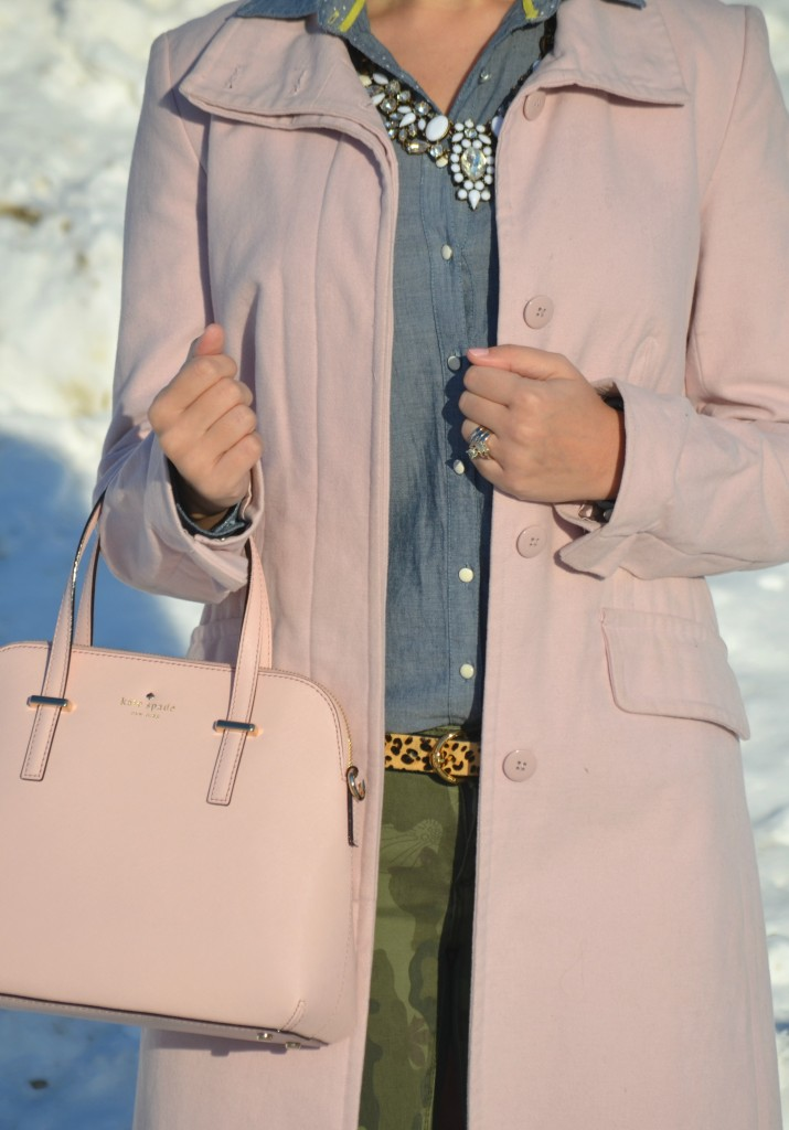 Canadian fashion blogger, Canadian fashion blog, fashion bloggers, Canadian fashionista, miz mooz boots, pink kate spade handbag, statement necklace, pink purse
