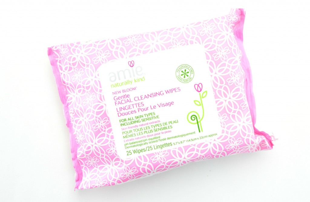 Amie Gentle Facial Cleansing Wipes Review