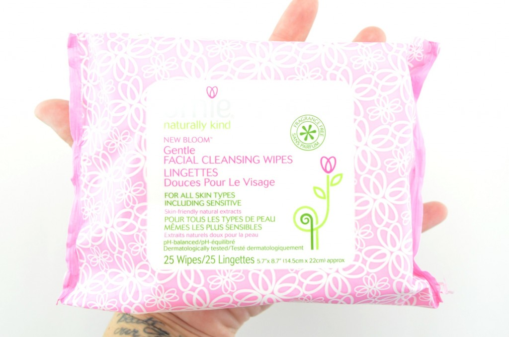 Amie, Gentle Facial Cleansing Wipes, Facial Cleansing Wipes , facial wipes, facial wipes review, canadian beauty blogger