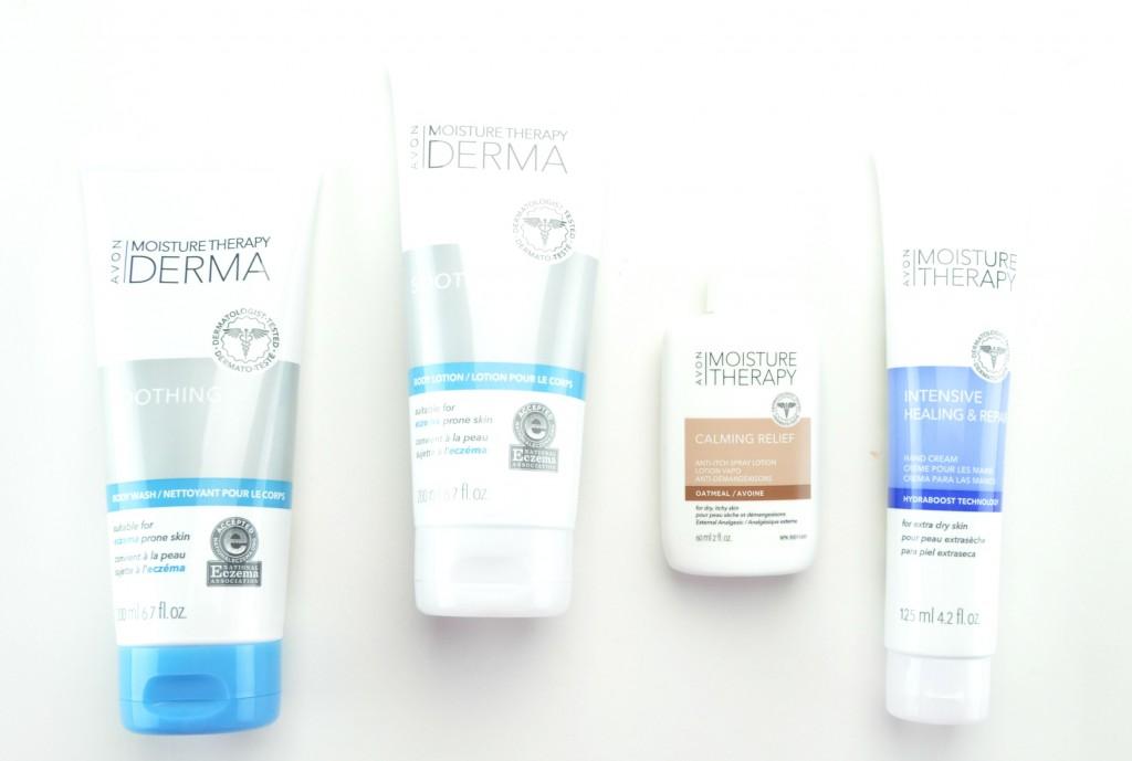 Avon Moisture Therapy Derma review, avon skincare, avon moisturizer, avon body wash