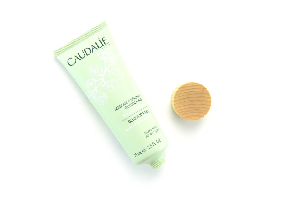Caudalie mask, Glycolic Peel Mask, Glycolic Peel, peel mask, spa treatment at home, facial mask