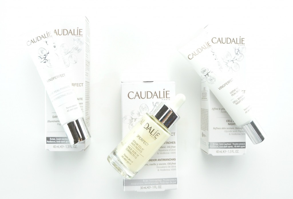 Caudalie Vinoperfect Skin Care Review