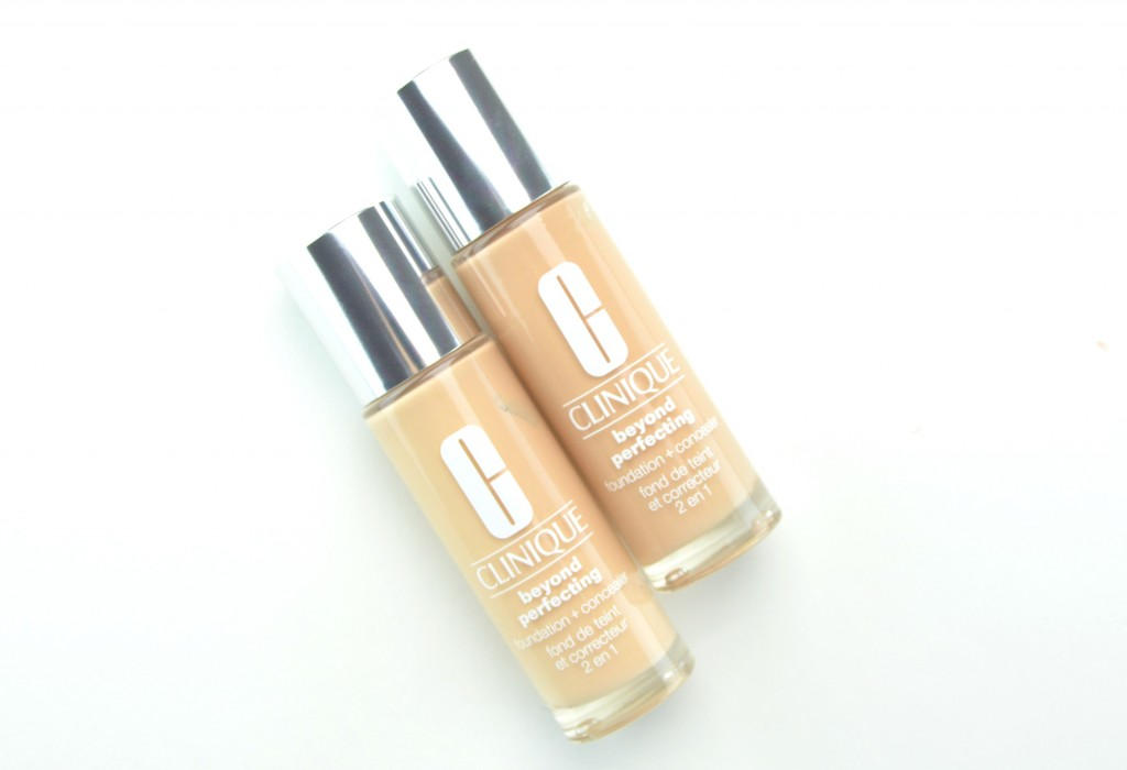 Clinique Beyond Perfecting. Foundation + Concealer review, Clinique Beyond Perfecting , clinique foundation, foundation and concealer in one, clinique concealer, canadian beauty blogger