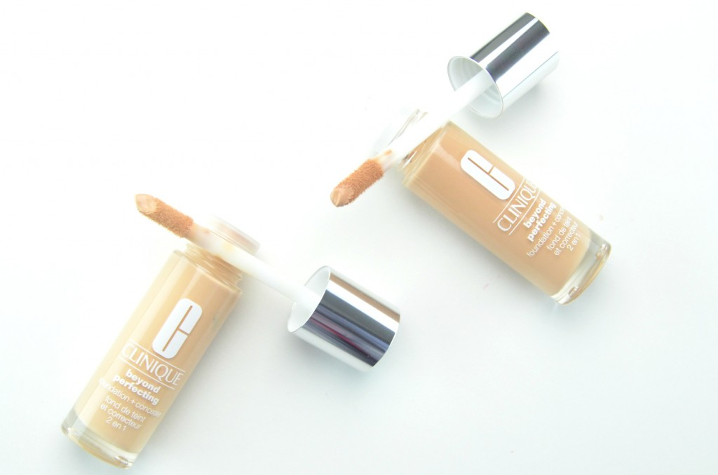 Clinique Beyond Perfecting Foundation review, Clinique Beyond Perfecting , clinique foundation, foundation and concealer in one, clinique concealer, canadian beauty bloggers