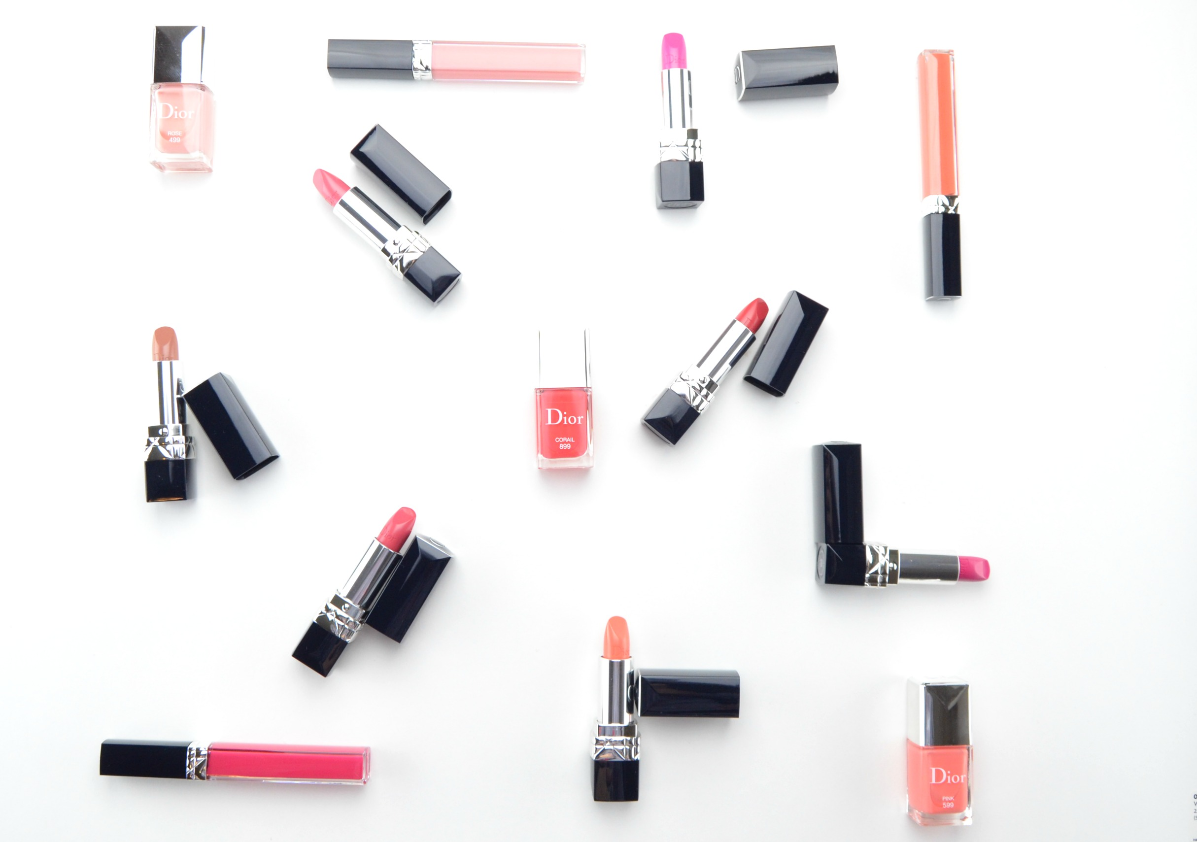dior rouge brillant collection review