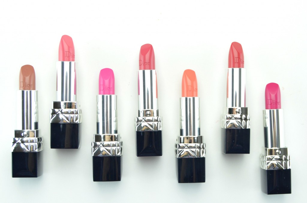 Dior Rouge Dior, dior rouge, dior lipstick, spring 2015 collection, dior cosmetics, pink lipstick