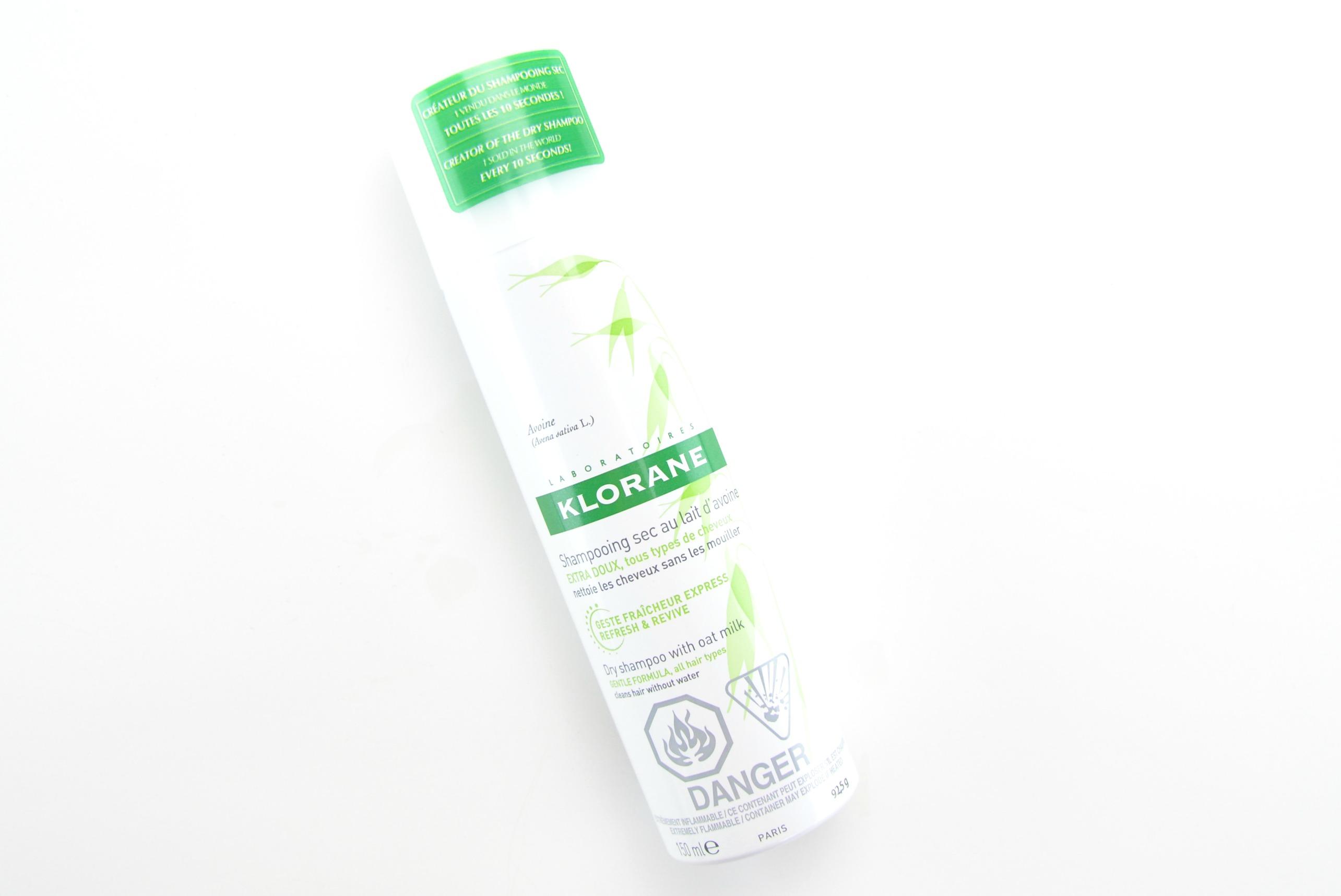 Klorane Dry Shampoo Klorane Dry Shampoo With Oat Milk Review