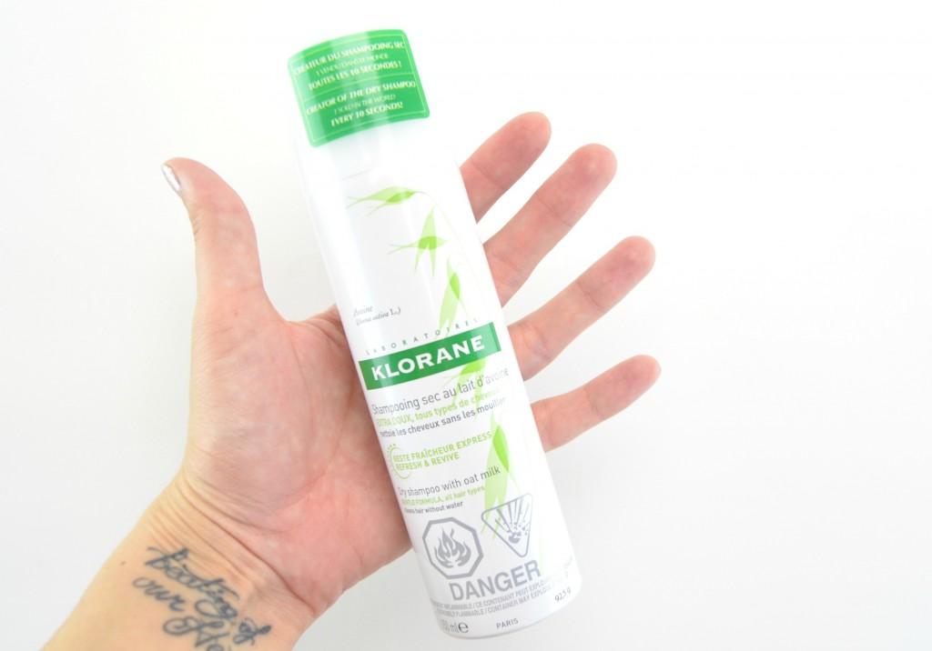 Klorane Dry Shampoo with Oat Milk, dry shampoo, klorana dry shampoo
