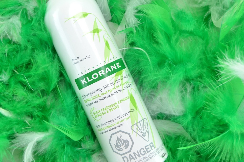 Klorane Dry Shampoo with Oat Milk review