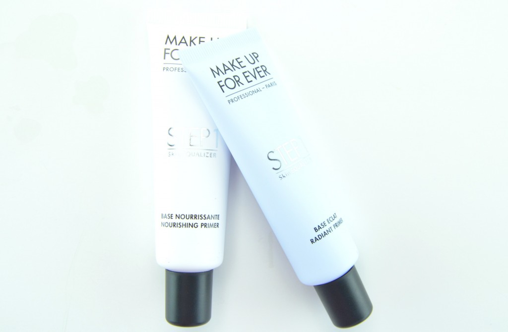Make Up For Ever Step 1 Skin Equalizer review, Step 1 Skin Equalizer, face primer, make up for ever primer