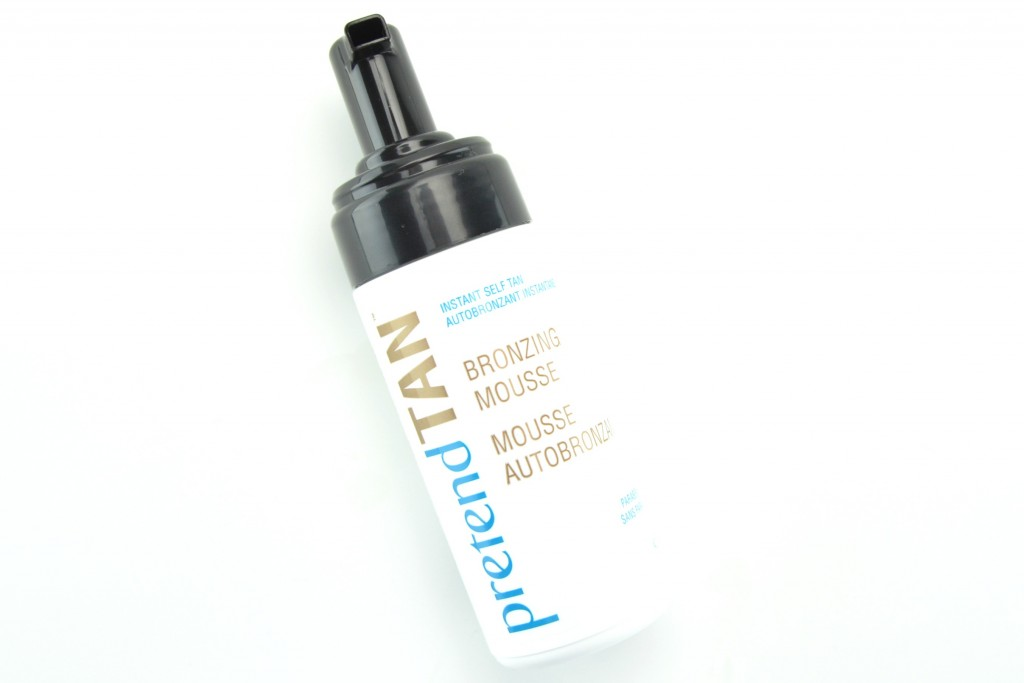 Pretend Tan, Bronzing Mousse, self tanner, self-tanner, spray tan, tanner, sun-kissed