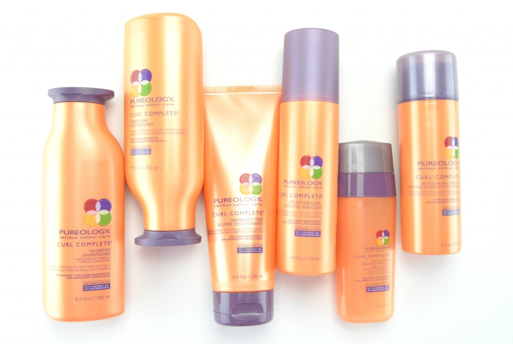 Pureology Curl Complete Collection Review