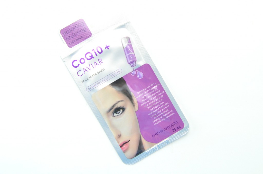 Skin Republic CoQ10 + Caviar Face Mask